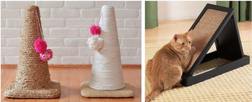 что делать, чтобы кот не дер мебель