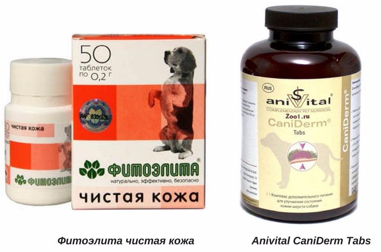 восполнения недостатка витамин у собак