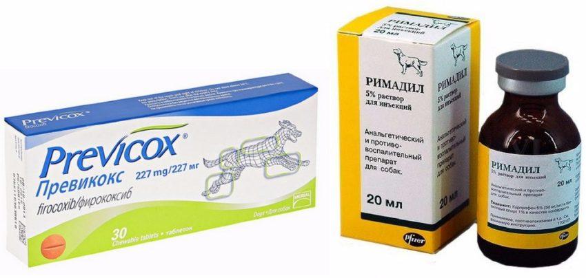 противовоспалительные препараты для лечения разрыва связок у собак
