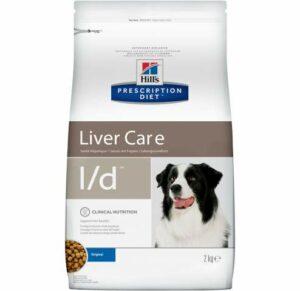 корм при заболевании печени у собак