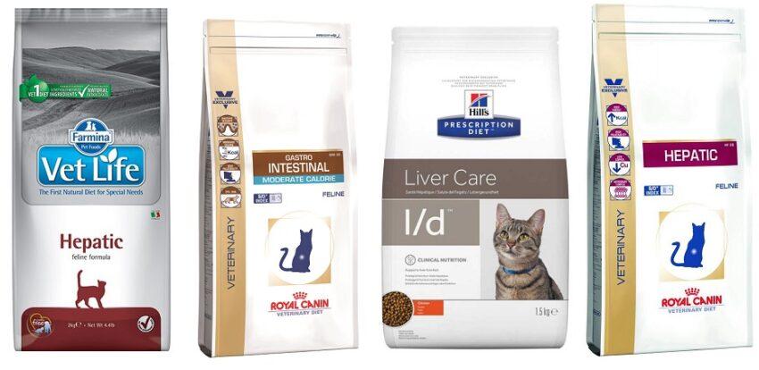 корм для котов при заболеваниях печени