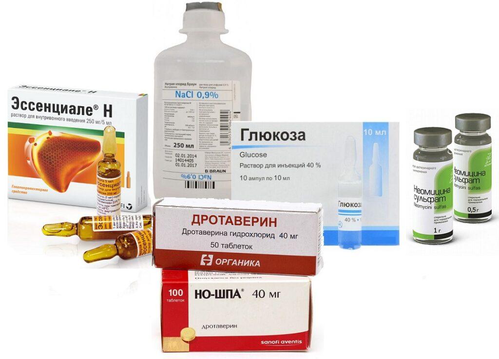 препараты при гепатите у кошек